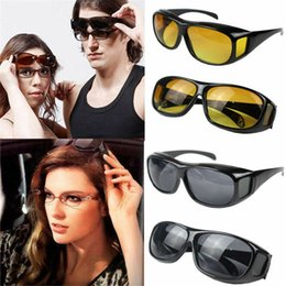 Cheap resin frames online shopping - HD Vision Wrap Arounds Sunglasses Aviation Driving Shades Sun Retro Cheap night vision goggles protective sand Glasses AAA1622