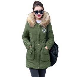 $enCountryForm.capitalKeyWord Australia - New Long Parkas Female Womens Winter Jacket Coat Thick Cotton Warm Jacket Womens Outwear Parkas Plus Size Fur Coat 2019 T190817