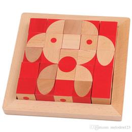 $enCountryForm.capitalKeyWord Australia - Puzzle Children's Toy Brain Cube Rubik's Cube Desktop Game 3D Cube Blocks Wooden Puzzle Six-sided Painting
