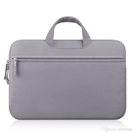 $enCountryForm.capitalKeyWord Australia - 11 13 15 Inch Laptop Bag Case Laptop Handbags Sleeve Case Zipper Computer Sleeve Case For Laptop PC Tablet