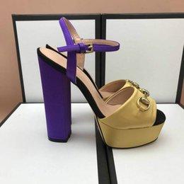 $enCountryForm.capitalKeyWord Australia - Women's sandals hot style high heels designer classic style dress shoes European station fashion trend factory direct sales