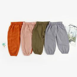 Wholesale fans pants for sale - Group buy Children Multicolor Long sleeve Cotton Retro Pants Tide Fan Boys Girls Cotton Lanterns Harem Pants Boys Trousers Girls Pants