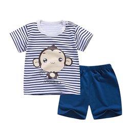$enCountryForm.capitalKeyWord Australia - Cartoon Kids Boy Clothing Set Hot Boys Clothing Set Children Summer T-shirt+Pants Cotton Girls