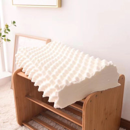 $enCountryForm.capitalKeyWord Australia - 1PC Rectangle Shaped Neck Pillow Slow Rebound Space Memory Foam Core Protection Neck Release Pressure Soft Adult Bedding Pillow
