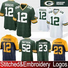 c8305ba0f Green Bays 12 Aaron Rodgers Packers Jersey 23 Jaire Alexander 17 Davante  Adams 21 Clinton-Dix Hundley 87 Jordy Nelson 52 Clay Matthews