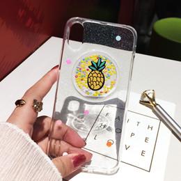 $enCountryForm.capitalKeyWord Australia - Mytoto Qianliyao Transparent Pineapple Rainbow Glitter Phone Cases For iphone X 7 7plus 8 8plus 6 6plus 6S 6Splus Soft Tpu Case Cover