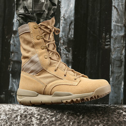 leather tooling boots Australia - Hot Sale-2018 Hotesale Brand New Couple Models Martin Boots Men's Autumn Leather Desert Boots High Tooling Cowboy boots