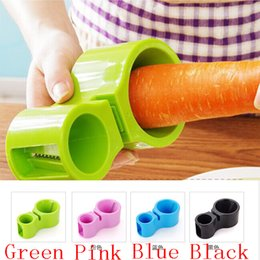 Multifunctional shredder grater online shopping - Multifunctional Grater Vegetable Spiral Peeler Cutter Sharpener Shredder Colors Spirality Double headedKitchen Gadgets Tools