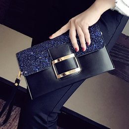 $enCountryForm.capitalKeyWord Australia - Fashion Bling Bling Female Casual Chains Purse Party Clutch Bag Evening Bag Pouch Flap Women's Crossbody Small Messenger