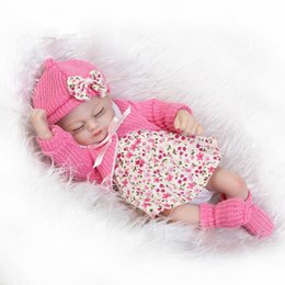 $enCountryForm.capitalKeyWord Australia - 12inch 25cm miniature preemie newborn baby doll soft silicone vinyl real touch gifts and toys for kids playmates