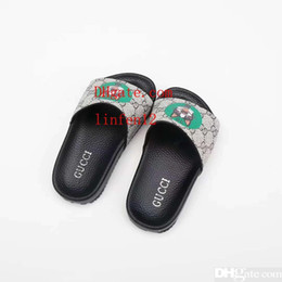 6dbbb06fe Kid slipper boy house dress slippers shoe girl black cheap sandals leather  shoes for baby boy girl dress Eu 26-35
