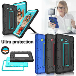 "tablet metal cases NZ - wholesale For Samsung Galaxy Tab E 9.6"" T560 Shockproof Tablet Hard Protective Case Cover"