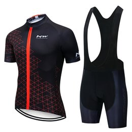 $enCountryForm.capitalKeyWord Australia - New Breathable mens Bicycle Jersey Summer NW Team Outdoor Sportswear Racing Bike Clothes Short Sleeve Quick Dry Cycling Jerseys Suit Y042603