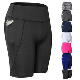 $enCountryForm.capitalKeyWord UK - Yoga Shorts Mesh Women Workout Quick Dry Seamless Shorts Running Athletic Gym Leggings Sexy High Elastic Sexy Compression #104180