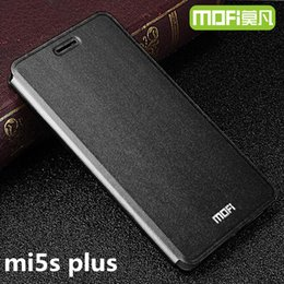 $enCountryForm.capitalKeyWord NZ - wholesale mi5s plus case original MOFi xiaomi mi 5s flip case leather back protection phone capas 3 in 1 fundas mi5s xiaomi 5s plus