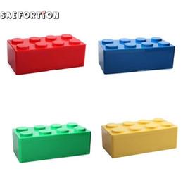$enCountryForm.capitalKeyWord Australia - Creative 1Pcs Building Block Shapes Plastic Saving Space Storage Box Superimposed Desktop Handy Office House Keeping