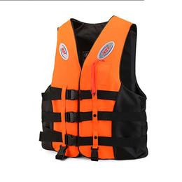 $enCountryForm.capitalKeyWord Australia - Polyester Adult kids Life Vest Jacket Swimming Boating Ski Drifting Life Vest with Whistle M-XXXL Sizes Water Sports Man Jacket