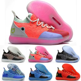 78f73c0164a4 KD 11 EP Elite Kids Basketball Shoes 11s Men Multicolor Peach Jam Mens  Doernbecher Trainers Kevin Durant 10 EYBL All-Star BHM Sneakers