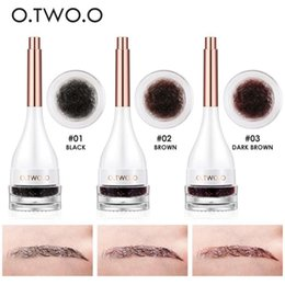 Building gels online shopping - O TWO O D Eyebrow Extensions Long Lasting Gel Fiber Waterproof Eyebrows Increase Cream Building Brow Hair With Eyebrow Brush DHL