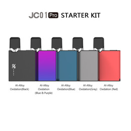 slim kit 2019 - Free DHL Authentic OVNS JC01 Pods Starter Kit 400mAh Palm Vape Mod Battery with Slim card-shaped appearance cheap slim k