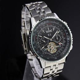 Black gold winner watch online shopping - Mens Watches Top Brand Luxury Jaragar Men Military Sport Wristwatch Automatic Mechanical Tourbillon Watch Relogio Masculino Y19052301