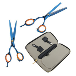 "5.5"" Barber Hairdressing Hair Cutting Scissors + Thinning Shears + Holster Set on Sale"