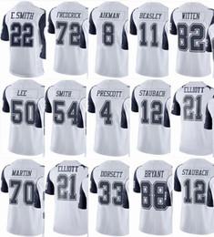 99d4a39925d COWBOY Dallas #21 Ezekiel Elliott #4 Dak Prescott #88 Dez Bryant #82 Jason  Witten #50 Sean Men Women Youth Color Rush Elite Football Jerseys