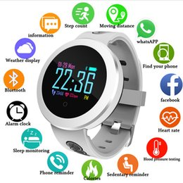 Discount oled smart watch - Heart Rate Monitor Fitness Smart Sports Watch Men Blood Pressure Blood Oxygen OLED HD Color Screen Smartwatch For ios an