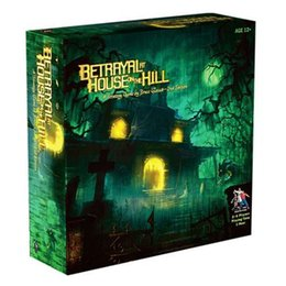 mountain boards UK - Fun Betrayal At House On The Hill board game Mountain House Cheats adult card educational toys