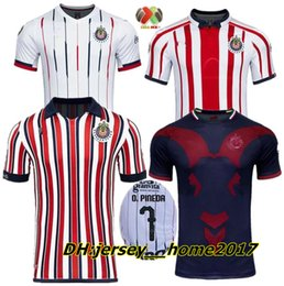 $enCountryForm.capitalKeyWord Canada - 2018 CLUB WORLD CUP Chivas de Guadalajara jerseys 18 19 home away 3rd Chivas 110th soccer shirts E. LOPEZ O.PINEDA A.PULIDO football shirt