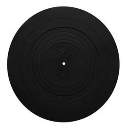 rubber player NZ - Anti-vibration Silicone Pad Rubber LP Antislip Mat for Phonograph Turntable Vinyl Record Players Accessories