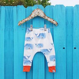 $enCountryForm.capitalKeyWord Australia - Summer kids clothing Cute Cartoons Fish Print boys ang girls pants Children whale trousers kids designer clothes JY393