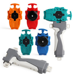 Wholesale Burst generation exploding combat gyro toy peripheral accessories burst hand handle launch