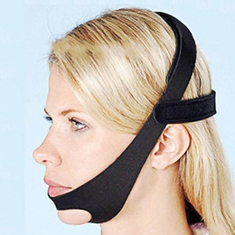 snore snoring chin strap NZ - Elastic Adjustable Anti-Snoring Chin Strap Anti Apnea Jaw Solution Sleep Support Apnea Belt Sleeping Care Tools Prevent Suffocation AB