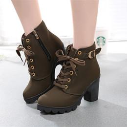 High Heeled Winter Shoes Australia - Dress Shoes Masorini Winter Casual Women Pumps Warm Ankle Boots Waterproof High Heels Women Snow Boots Women Botas W-123