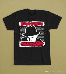 Discount plus size short sleeve denim shirt - Brand Cotton Clothing Male Slim Fit T Shirt Casual Buck-O-Nine Sustain Crew Neck Short-Sleeve Mens Tee Shirts