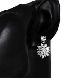 $enCountryForm.capitalKeyWord UK - HONGHONG Cubic zirconia 3 Pcs Women's Necklace Earrings Set Bridal Jewelry Sets 3 color Ladylike Zircon Chic Jewelries