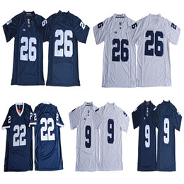 1d7f050a0 2019 Penn State Nittany Lions College Football 26 Saquon Barkley 9 McSorley  22 Akeel Lynch BIG Ten Football Jerseys