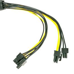 $enCountryForm.capitalKeyWord Australia - 25cm Pci-e To Dual 8pin   Pcie 8pin-2x 6+2pin Graphics Video Card Pci Express Power Splitter Cable Y10