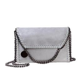 $enCountryForm.capitalKeyWord Australia - Designer-2018 New Women Messenger Bag Female Korean Casual Black Chains Shoulder Bag Women Elegan Gray Handbags Female Women Bags LX468