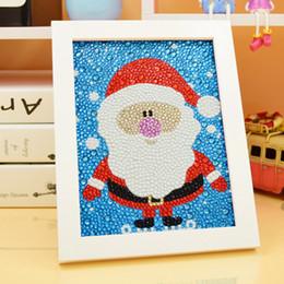 $enCountryForm.capitalKeyWord Australia - X60 Wholesale 5D Diamond Painting kit with Frame, Christmas Diamond Painting, Square Drill Embroidery Cartoon Round Cross Stitch Decoration