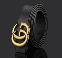 Marque en gros enfants véritables ceintures en cuir enfants garçons filles lettre boucle loisirs taille ceinture / ceinture enfants ceintures 80cm en Solde