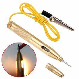 $enCountryForm.capitalKeyWord Australia - DC 6V-24V Electrical Circuit Tester Pen Car Light Lamp Test Pencil Motorcycle Car Truck Circuit Voltage Tester