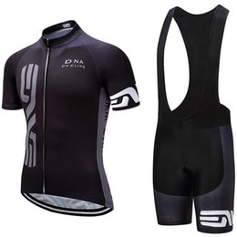 Wholesale 2020 NVE Black Cycling team jersey 20D gel pads bike shors set mens quick dry pro BICYCLING Maillot Culotte clothing