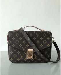 Bohemian Leather Handbags UK - LOUIS VUITTON2019Famous brand Designer fashion  women bags luxury bags jet set 5919cb5b879d2
