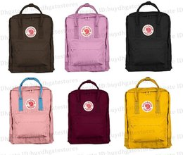 baby cottons outlet NZ - Original Fjallraven Kanken Classic Color Backpack Mom Baby Bags Canvas Bags Hangbags Multicolor Outdoor Travel Bag Outlet