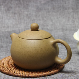 yixing purple teapot UK - purple sands Teapot Famous Kung Fu Tea Set Yixing Handmade Pot Cup Set 280ml Ceramic Chinese Top Quality Tea Ceremony Gift Packaging