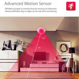 Alarm Pir Camera Australia - WiFi Smart Home PIR Motion Mini Wireless Security Infrared Alarm Sensor with Free SmartLife Smart APP