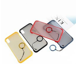 $enCountryForm.capitalKeyWord Australia - SZAICHGSI 1000PCS No Frame Newest Phone Cases with Finger Ring Holder for Iphone xs xr 6 7 8 Cover Coque Back Bumper Housing