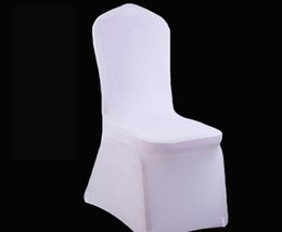 Chair Factories Australia - Factory wholesale wedding hotel banquet hotel chair cover elastic white all-inclusive chair cover thickening custom spot